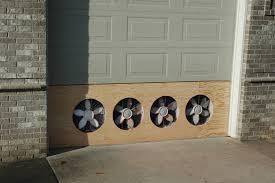 garage exhaust fan ideas mile sto