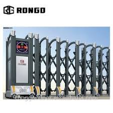 Rongo Safety Retractable Fence Gate The Latest Design View Retractable Fence Gate Rongo Product Details From Foshan Rongo Intelligent Technology Co Ltd On Alibaba Com
