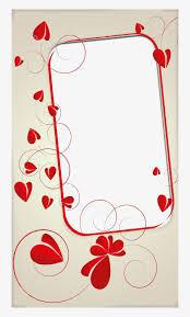 romantic love frames png