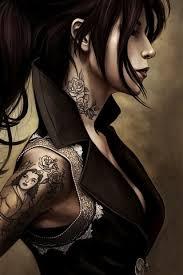 fantasy tattoo tight clothing