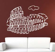 Stunning Rome Wall Stickers Tenstickers