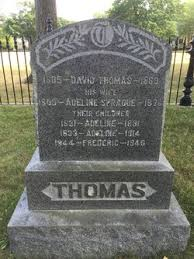 Adeline Thomas (1831-1831) - Find A Grave Memorial