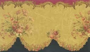 cut vine fl wallpaper border