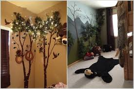 Creative Forest Themed Kids Bedroom And Nursery Decor Ideas Themed Kids Room Forest Baby Rooms Girls Bedroom Themes