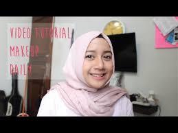 tutorial makeup natural sehari hari