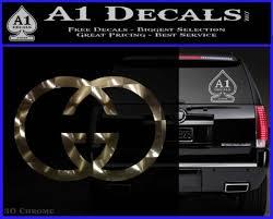 Gucci Logo Decal Sticker A1 Decals