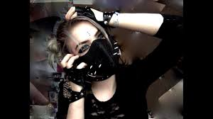 cyber goth makeup you