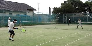 勝っても負けても楽しいテニス : 東金、折々の風景