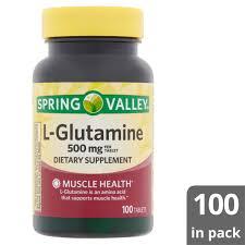 spring valley l glutamine tablets 500