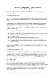 pdf curriculum diffeiation a
