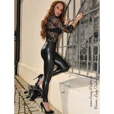 faux leather leggings razer crazy