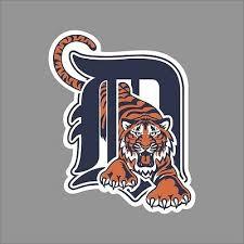 Detroit Tigers 4 Mlb Team Logo Vinyl Decal Sticker Car Window Wall Cornhole
