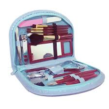 manicure and makeup gift set of 18