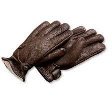 bison leather winter gloves leather