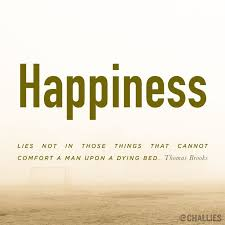 quotes about wisdom happiness lies not in those things that