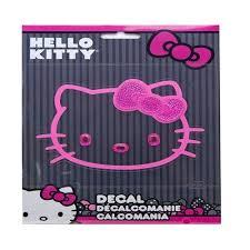 Hello Kitty Cling Bling Window Decal Walmart Com Walmart Com