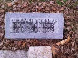 Ada Ward Volkmar (1858-1929) - Find A Grave Memorial