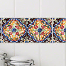 Stick Pretty Retile Sevilla Wall Decal Reviews Wayfair Traditional Wall Decals Tile Decals Wall Decals