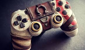 Custom God Of War Controller Looks Sculpted From Stone