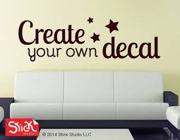 Personalized Wall Decal Wall Sticker Vinyl Wall Quotes Removable Wall Decal Customized Custom Wall Stickers Personalized Wall Decals Custom Wall Decals
