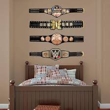 Wwe Title Belts Collection Wwe Wrestling Wwe Bedroom Wwe Bedroom Decor Big Boy Bedrooms