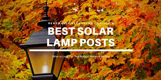 6 Best Solar Lamp Posts 2020 Reviews Gama Kemeco Sterno