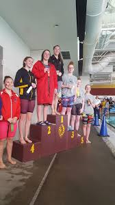 Addie Mitchell at Big 9 District Swim in... - Eisenhower High School    Facebook