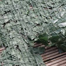 Artificial Ivy Leaf Hedge Panels On A Roll Privacy Screening By True Products 3m Long