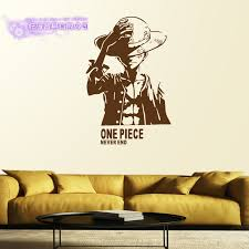 Luffy Wall Decal One Piece Vinyl Wall Stickers Decal Decor Home Decorative Decoration Anime One Piece Car Sticker Decorative Home Decor Home Decorvinyl Decal Aliexpress