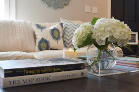 decorate and style a coffee table