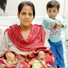 Newborn twins named Corona and Covid by their parents after birth during  the foreclosure of India | FR24 News English