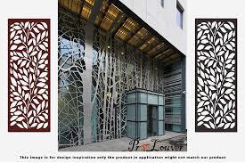 Metal Privacy Screen Laser Cut Decorative Steel Privacy Panel Metal Fencing 48x24inch 1piece Window Screens Aliexpress