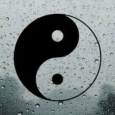 Yin Yang Car Decal Bumper Sticker Window Sticker Window Etsy