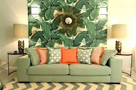 tropical wallpaper ideas with greenery