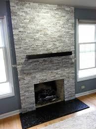 fireplace in el capitan gray blend