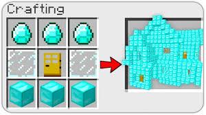 CRAFT a DIAMOND HOUSE in MINECRAFT ...
