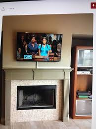 ol 5383 wiring tv above fireplace