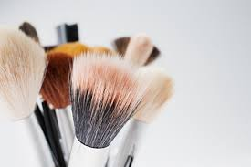 natural and synthetic makeup brushes