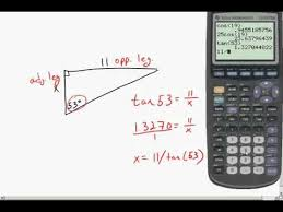 right triangle trig part 2 solving the