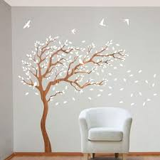 Owl Wall Art Stickers Removable Bird Wall Decals