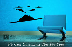 F 117 Stealth Fighter Jet Us Military Flying In Formation Set Of 6 A Wall Decor Vinyl Decal Sticker Graphic Art 2376