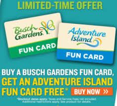 busch gardens pre p free