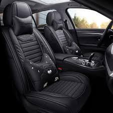full coverage eco leather auto seats