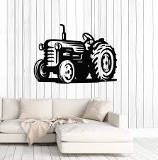 Vinyl Wall Decal Tractor Farm Farmer Kids Room Art Decor Stickers Mura Wallstickers4you