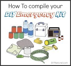 how to make a diy emergency kit for