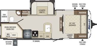 243bhs floorplan keystone rv