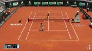 Jannik Sinner vs Stefanos Tsitsipas | ATP Roma 20 Live Gameplay - YouTube