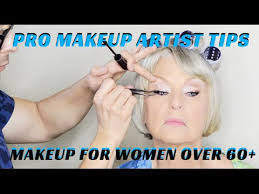 how to do makeup on women over 60