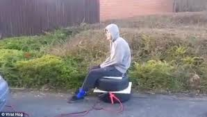 an airbag homemade ejector seat