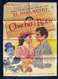 Chucho El Roto CARLOS BAENA ADRIANA ROEL Original MEXICAN MOVIE POSTER 1959  | eBay